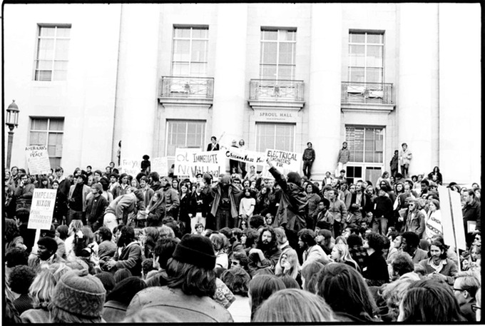 Sproul Plaza Demonstration Kent State